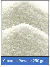 Coconut Powder 250 gm.