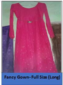 Fancy Gown – Full Size (Long)