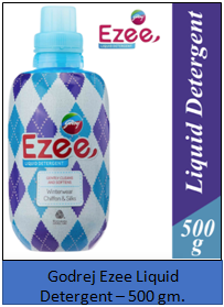 Godrej Ezee Liquid Detergent – 500gm.