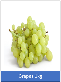 Grapes 500gm