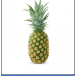 Pineapple 1pc ,48 Rs. to 75 Rs.