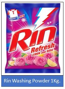 Rin Washing Powder 1 Kg.