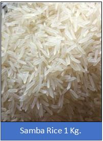 Samba Rice 1 Kg.