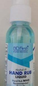 50 ml Biofresh Pure Herbal Liquid Hand Rub